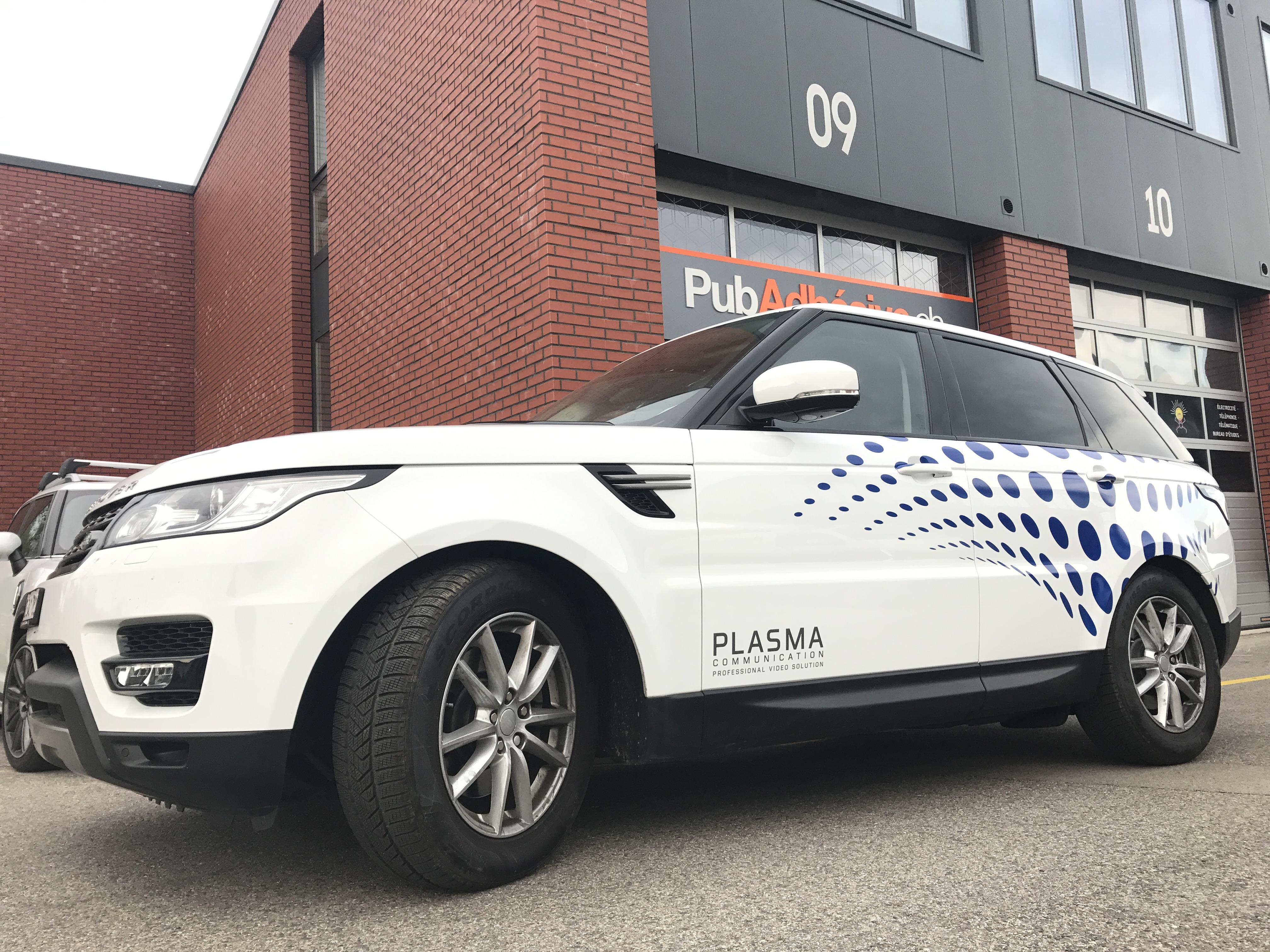 Plasma Communication - PubAdhésive