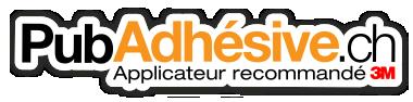 Pub Adhésive – Conception, fabrication et installation de publicité adhésive, autocollant publicité, publicité vitrine, enseigne publicitaire, signalétique, bâche publicitaire, total covering – Gland – Nyon – Duillier – Morges – Lausanne – Genève – Rolle – Versoix » Tu vois ce que je veux dire ! Logo