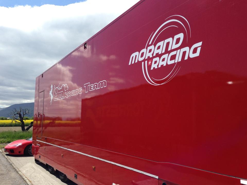 Morand Racing Team Ferrai PubAdhésive