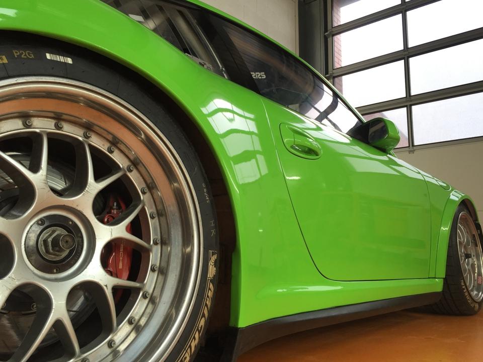 Porsche GT3 cup total covering PubAdhésive