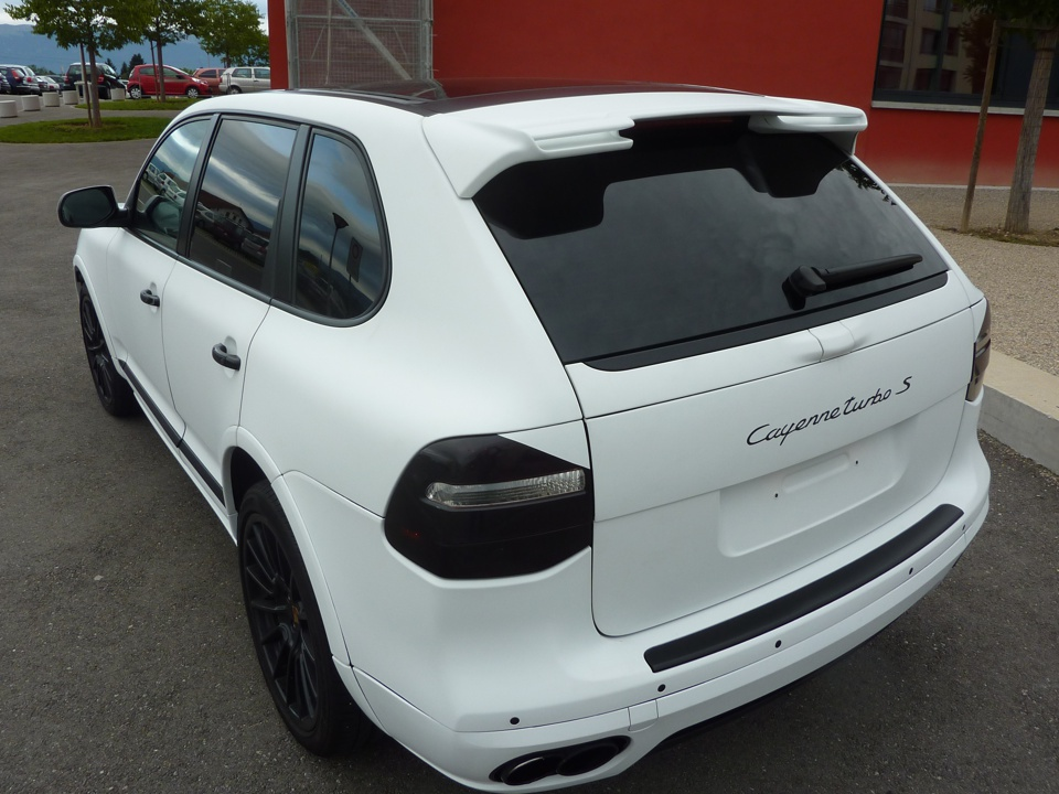 Porsche cayenne - PubAdhésive