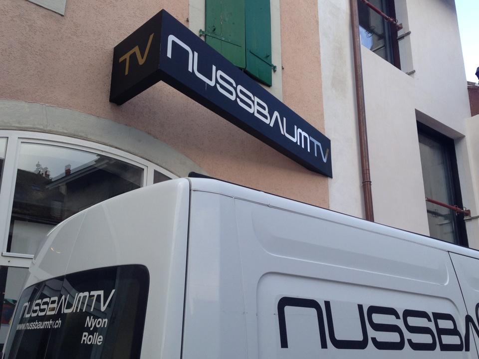 Nussbaum TV PubAdhésive