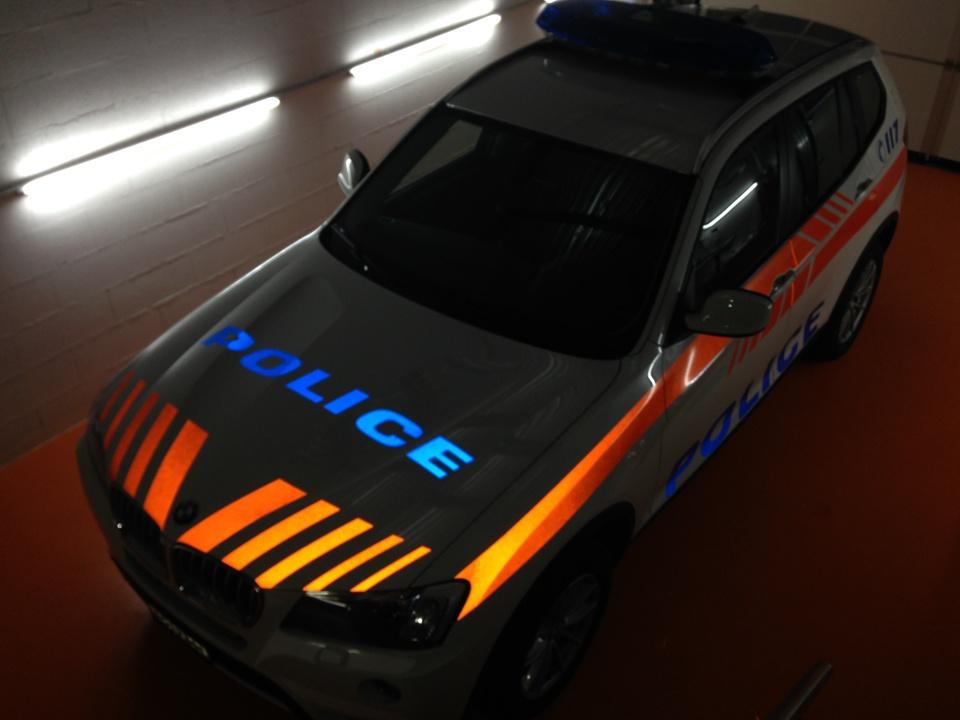 Police de Nyon - PubAdhésive