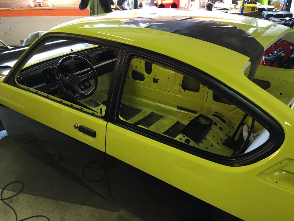 Opel Kadett GTE - PubAdhésive
