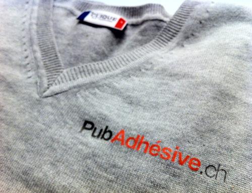 PubAdhésive – Pull et t-shirts