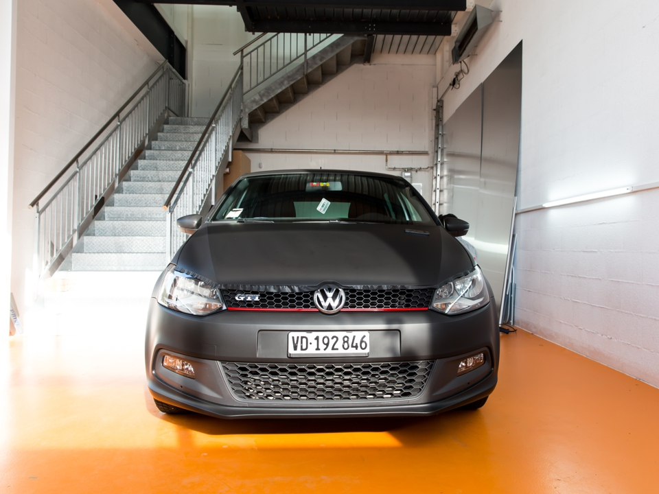 VW polo total covering - PubAdhésive
